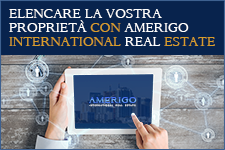 elencare la vostra proprietà con Amerigo International Real Estate